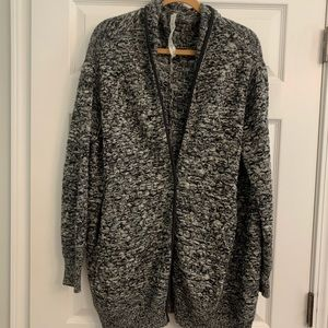 Lululemon Long One-Button Cardigan with Pockets
